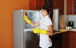 så rengör du kylskåpet bäst