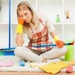 så organiserar du din städning för att städa hemmet effektivt